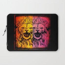 Lion's Dual Laptop Sleeve