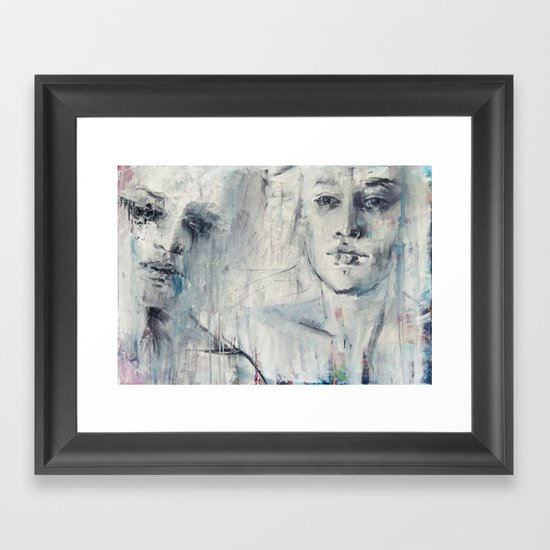 our great love story Framed Art Print