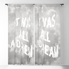 DREAM BIG Blackout Curtain