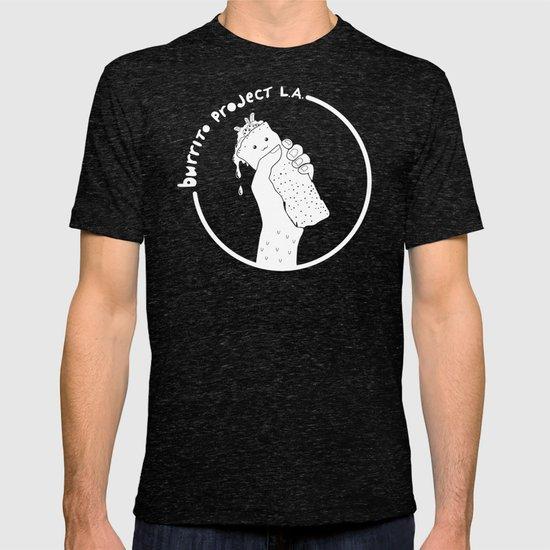 Burrito Project L.A. (white logo) T-shirt