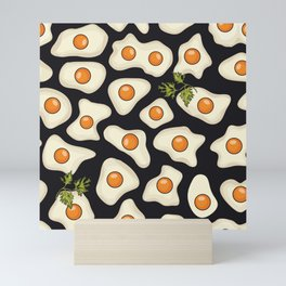 fried eggs Mini Art Print