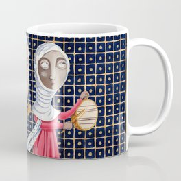 L'epoca di Federico II - Corteo di dame Coffee Mug