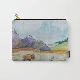 Wonderful World Carry-All Pouch