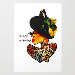 RESTORED Art Print
