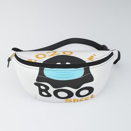 2020 Boo Sheet Shirt for Women Men - Ghost in Mask Halloween Fanny Pack