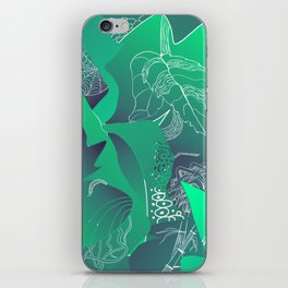 Viridian iPhone Skin