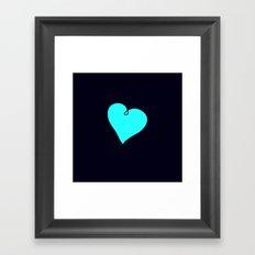 {My Heart} Framed Art Print