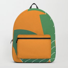 Banana Leaf #geometric #decor #society6 Backpack