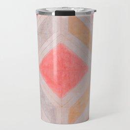 Boho Harlequin Pattern Travel Mug