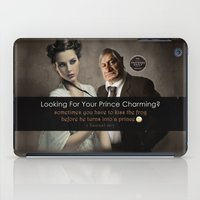 beauty and the beast iPad Cases featuring Beauty & Beast by ProverbsDaily