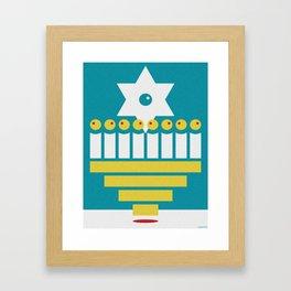 CHANUKKAH Framed Art Print
