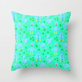 Silly Dodo's Throw Pillow