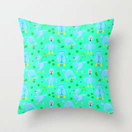 Silly Dodo's Throw Pillow
