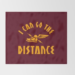 I Can Go The Distance Throw Blanket