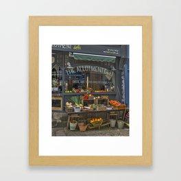 The Deli. Framed Art Print