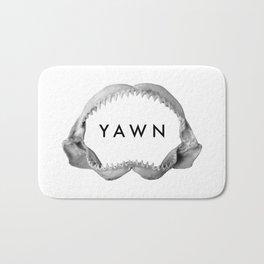 Yawn Bath Mat