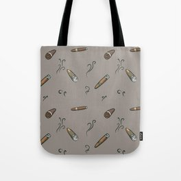 Smoky cigar pattern Tote Bag