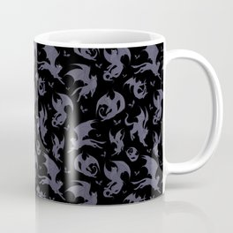 Batcats black Coffee Mug