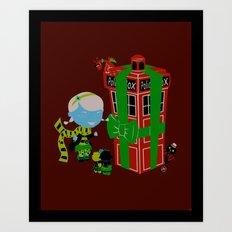 Best. Christmas. Ever. Art Print