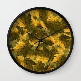 Autumn moods n.9 Wall Clock