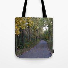 Illinois Autumn Trail Tote Bag
