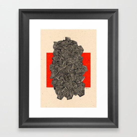- metro - Framed Art Print