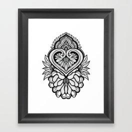 Sacred Flora Framed Art Print