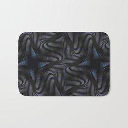 Carbon Waves Bath Mat