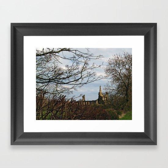 Byland Abbey Framed Art Print