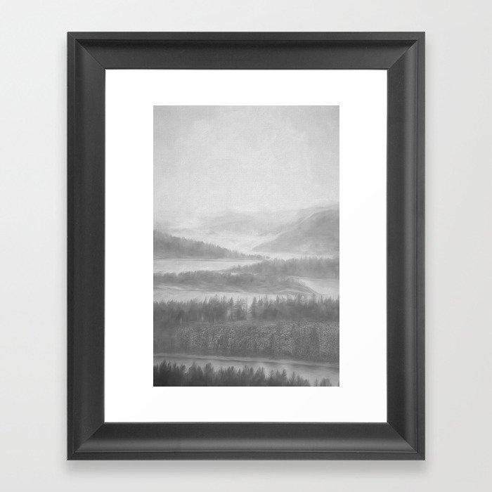 Northern Shores Framed Art Print