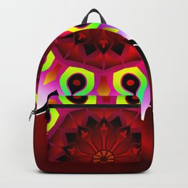 Quantum mandala Backpack
