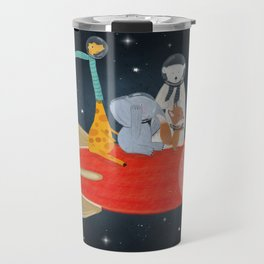 lets all go to the moon Travel Mug