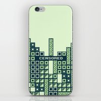 tetris iPhone & iPod Skins featuring tantric tetris. by dann matthews