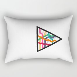 Lonely Triangle Rectangular Pillow