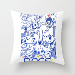 Dogs✧ Throw Pillow