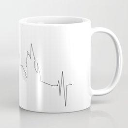 Hogwarts Heartbeat Coffee Mug