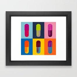 pills sex damien hirst Framed Art Print