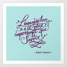 L'imagination Art Print