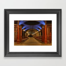 Granary Wharf Framed Art Print