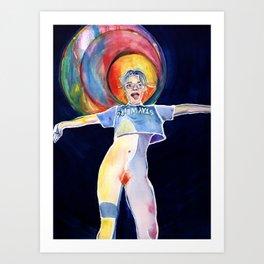 Witchy Quinn Art Print