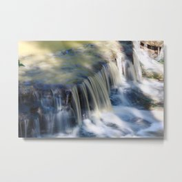 Nature Flows Metal Print