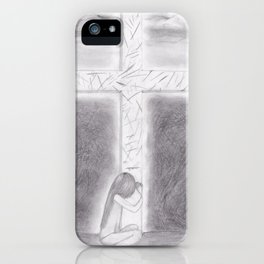 His Wounds iPhone Case