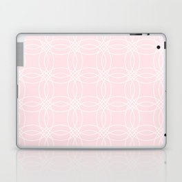 Simply Vintage Link White on Pink Flamingo Laptop & iPad Skin
