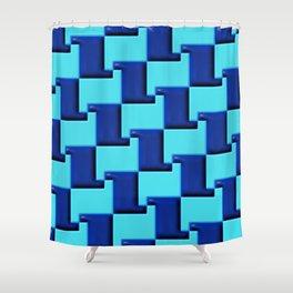 Geometrix 163 Shower Curtain