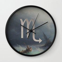 Fine Zodiac / Scorpio Wall Clock