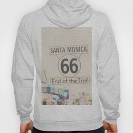 the end of route 66 ... Hoody