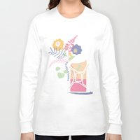 pocket fuel Long Sleeve T-shirts featuring floral fuel by silviarossana