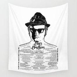 Jake Blues Brothers 'Four Fried Chicken' Wall Tapestry