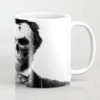 lincoln Mugs featuring Abraham Lincoln by Motohiro NEZU