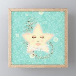 North Star, Lady Star Framed Mini Art Print